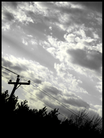 Power Lines And Power Ballads by rosesfornezumi
