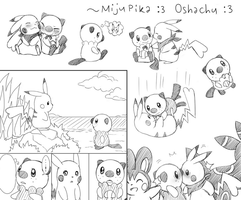 Art dump: PikaxMiju Gates to Infinity by Endless-Rainfall