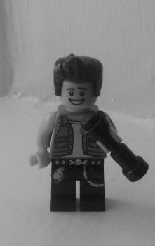 Lego Andy Biersack by RiffRaven