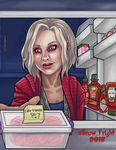 iZombie: Midnight Snack by SnowFright