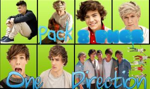 Pack png One Dirtection by lha-constanza