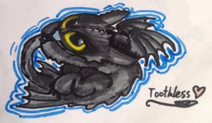 baby toothless by BerkTheFirst