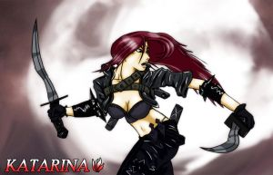 Katarina, The Sinister Blade by King-Radical-II