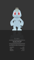 Machop by WEAPONIX