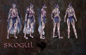 Skogul turnaround by DarkPrincessLauren