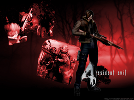 Resident Evil 4 Wallpaper by Manic-Misha