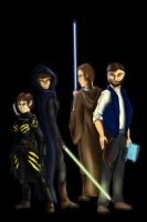 The Core Four by ErothBlackDragon