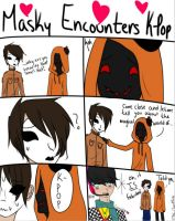 Masky Encounters K-Pop by Riot-For-Me