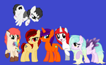 Pony Group Tribute! by HGames6