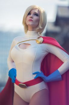 Powergirl at J-popcon 2014 by simplearts