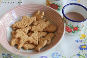 Animal biscuits with Milo by patchow
