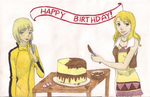 Huang Pao-Lin and Karina Happy Birthday- TB by amouse-withasadtale