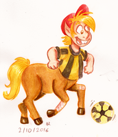 Monster a Day Challenge - Centaur by TopperHay