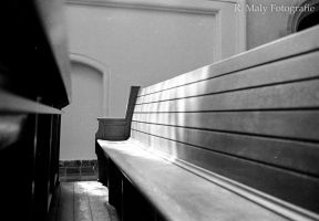 Church bench by TLO-Photography