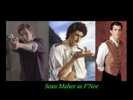 Sean Maher as F'Nor by SWFan1977