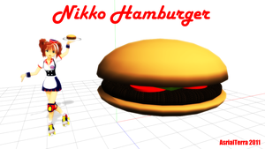 MMD Hamburger by AsrialTerra