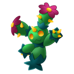 Pokemon 556 - Maractus by illustrationoverdose