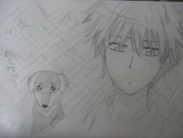 Usui Takumi Frowny Face by cheskittynya