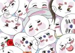 Hetalia Mochis Coloring by outlire