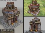 Rise and Fall game building: Persian Temple by TheArtOfSanhueza