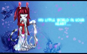 My little world in your heart by Iris-icecry