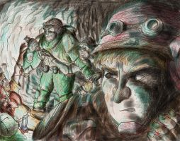 26 Welcome to the Mines by Afalstein