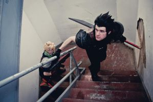 Zack and Cloud: Infiltrators by Ex-Shadow