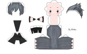 Noctis papercraft by Akishan-creation