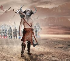 Army of the Minotaur by israelcs
