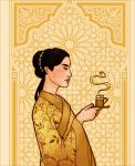 Jasmine Tea for E-C-H by JosieCarioca
