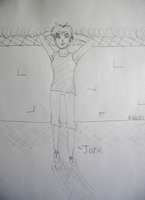 Jake By The Wall by The-Lost-Hope