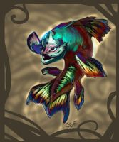 Super Magic Rainbow Fish by CBSorgeArtworks