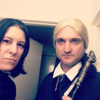Snape and Lucius cosplay by smdownunder