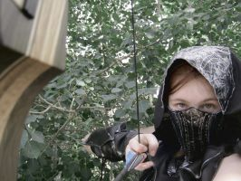 I'll Kill You If I Must--Skyrim Cosplay by audrey-vista