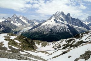 Grands Montets and Argentiere by UkoDragon