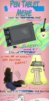 Pen Tablet Meme by siquia
