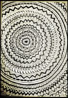Zentangle the World::.. by Bast-The-Cat-Goddess