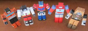 And More Autobots HAKO by aim11