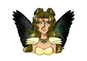 G: Gamma Bust w/wings and glow by Re-Pyper