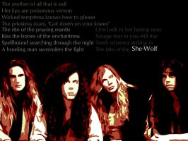 Megadeth Wallpaper SheWolf by freedomcall