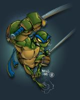Leo TMNT by AlonsoEspinoza