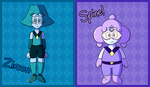 Zircon and Spinel by Candy-Swirl
