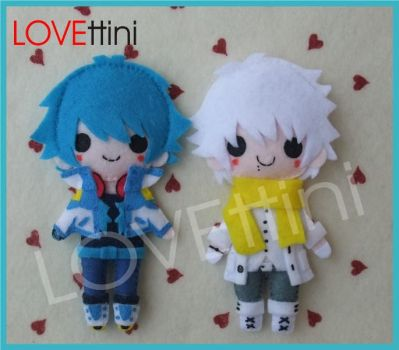 Aoba and Clear DMMD by LOVEttini