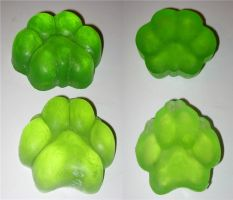 Soap paws by Kivuli