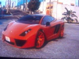 Red Out Custom Vacca Aventator (GTA V) by MarcusMcCloud100
