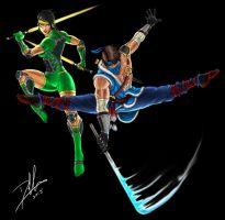 Killer Instinct: Orchid and Jago III by DHK88