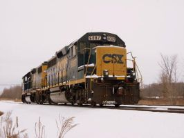 CSX 6087 by LDLAWRENCE