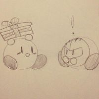 Present for Meta Knight by Tannermema