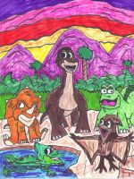 The Land Before Time by SonicClone
