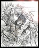 Sesshomaru and Rin by Anti-Sess-and-Rin